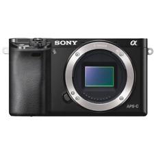 Sony Alpha A6000 Digital Camera Body - Black: Refurbished