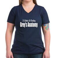 CafePress Grey's Anatomy: Women's V Neck Dark T Shirt V-Neck T-Shirt (470238340)