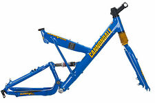 "1999 Cannondale Super V 2000 Mountain Bike Frame 19.5in LARGE 26"" Aluminum Fox"