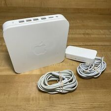 Apple AirPort Extreme Base Station 5th Generation WiFi A1408 w/ Power Supply