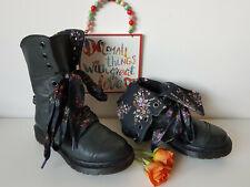 UK 3 EU 36 US 5 Triumph Aimilita Dr Martens floral Aimilie boots
