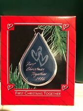 HALLMARK 1986 FIRST CHRISTMAS TOGETHER ORNAMENT