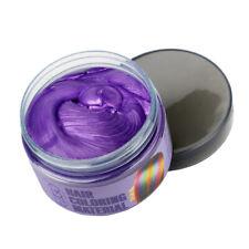 Hair Color Dye Wax Unisex Hair Glamor Temporary Paint Mud washable Cream 7 Color