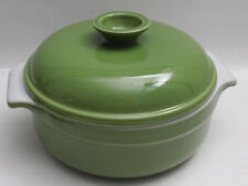 "Emile Henry 8"" Round Baking Dish - France Green 8420 - NEW Old Stock - E64"