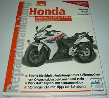 Reparaturanleitung Honda CBR 500 R / CB 500 F / CB 500 X mit ABS ab 2013 NEU!