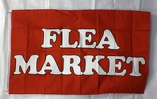 Flea Market flag 3x5 banner concession business advertise sign Free Ship