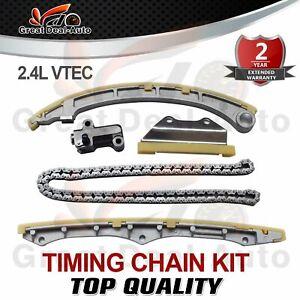 Timing Chain Kit for HONDA ACCORD L4 03-07,CR-V CIVIC ACURA TSX K24A1 A2 A3 2.4L