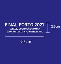 FINAL PORTO 2021 CHELSEA FC UCL FINAL 2021 PU MATCH DETAILS