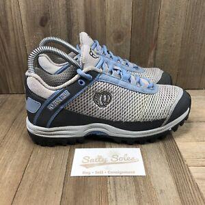 Pearl Izumi X-Alp Seek Shoes Grey/Blue Cycling Womens Size 37 EUR (6 US)