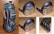 Wilson HOPE LX Ladies Golf Clubs & 6-Way Divider Club Bag w/ Carry Strap *READ*