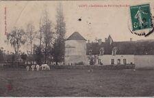 CPA  --  GUIPY  LE CHATEAU DU PRE   COTE NORD EST   CIRCULEE EN 1910   865.C