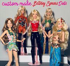 Britney Spears Custom Ooak Doll order One Doll