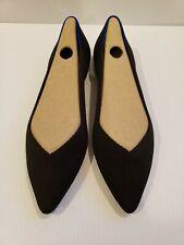 Rothys size 8.5 black pointy toe womens flats