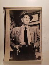 "Press Photo AP Wire Press Laserphoto Actor Jack Webb ""Dragnet"" 12/23/82"