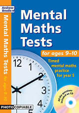 Mental Maths Tests for Ages 9-10: Timed Mental Maths Practice for Year 5 (Mental