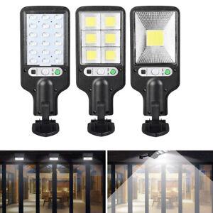 Solar Powered Street Light LED Wall Lamp Body Induction Waterproof Street Lamp G