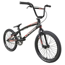 "2021 CHASE EDGE PRO XL 20"" Complete BMX Bike Black/Red"