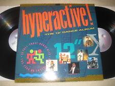 """Hyperactive! the 12"""" dance album vinile 2 LP Sampler"""