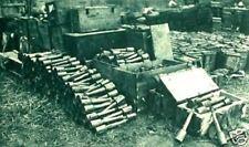 Alemán-Manual de referencia de seguridad explosivos estadounidenses, WW1, pistola conchas, granadas, FUZES