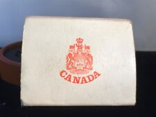 1971 Canada British Colombia $1 50% Silver Dollar with Original Box