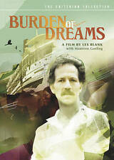 BURDEN OF DREAMS - VG DVD Criterion OOP RARE Werner Herzog