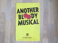BATBOY / BAT Boy  Another Bloody Musical  SHAFTESBURY Theatre Original Poster