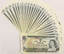 Canada 1973 (One) $1 Dollar Bill Canadian Note Mint Uncirculated CRISP Banknote