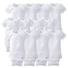 Gerber Newborn Baby Grow With Me Onesies 12 Piece Set NEW Unisex White