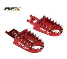 RFX piede effettua il pegging POGGIAPIEDI HONDA CRF150 CR125 CR250 CRF250 CRF450 ROSSO