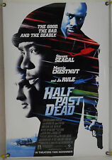 HALF PAST DEAD DS ROLLED ADV ORIG 1SH MOVIE POSTER STEVEN SEAGAL ACTION (2002)