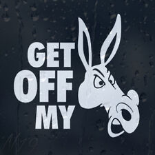 Get Off My Funny Car Or Laptop Decal Vinyl Sticker For Window Bumper Panel