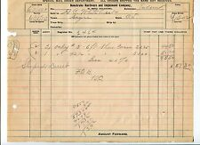 Bonebrake And Implement Company El Reno Oklahoma Territory 1902 Original Receipt