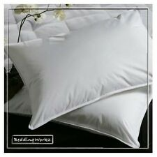 Luxury Goose Feather & Down Pillows + Pillow Protectors **Non-Alergenic**