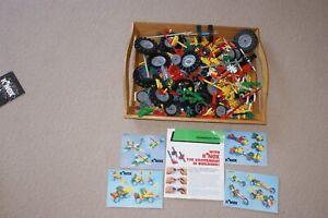 Job lot Mixed Bundle of K'NEX Wheels Connectors Rods And Cogs