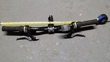 BLACK HANDLEBAR 600 mm, PROMAX BRAKE LEVERS, GRIPSHIFT 7,3 SHIFTERS, GRIPS, STEM
