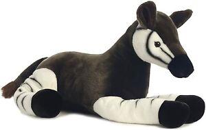 "Aurora World Super Flopsie Jumbo 26""L OKAPI Animal Plush NEW with Tags"