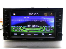 In Dash Car Stereo BT Radio CD DVD Player GPS Navigation For KIA Spectra 5 + Map