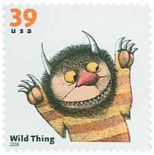 Where the Wild Things Are Maurice Sendak Children's Book US Stamp MINT CONDITION