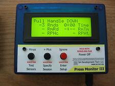 Press Monitor III for Dillon 550 650 Hornady Counter Statistics (Blue, Manual)