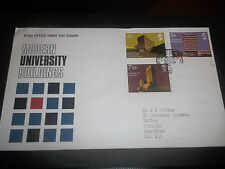POST OFFICE FIRST DAY COVER ~ MODERN UNIVERSITY BUILDINGS EXCELLENT FDC 1971