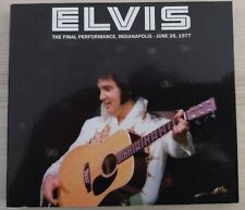 More details for elvis presley - the final performance, indianapolis - june 26, 1977  cd rare !!!