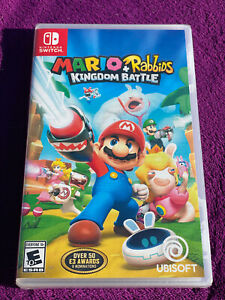 Mario + Rabbids Kingdom Battle (Nintendo Switch) BRAND NEW...FACTORY SEALED.