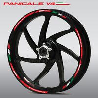 Panigale V4 motorrad Felgen Rand Aufkleber stickers streifen Ducati Corse V4S