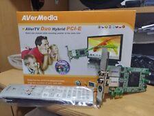AverMedia AverTv Hybrid Due PCI-E TV Tuner Card for Desktop with FM