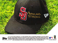 MLB Honors Stoneman Douglas Victims 2.23.18 Parkland Strong 2018 Topps NOW ST-3