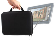 Strong Black Samsung Galaxy Note 10.1 Tablet Cover In Tough EVA With Steel Zip