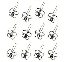 Deal of The Week Dozen Pack @ $1.99 Crystal Hairstick Hairpins SH863075-4ring-D
