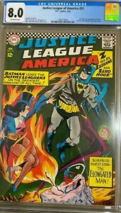 Justice League of America  #51 Silver Age 2/67 (CGC Certified 8.0)