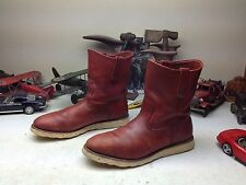 1995 VINTAGE RED WING USA OXBLOOD LEATHER IRISH SETTER ENGINEER BOSS BOOTS 13 D