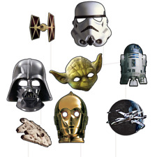 Star Wars Photo Booth Party Props 8 Pack